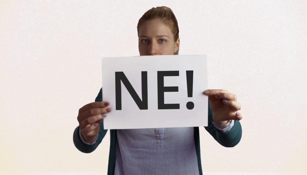 3 pristojna načina da kažete NE